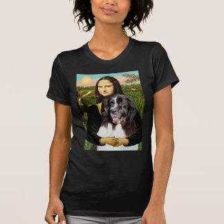 T-shirt Newfie (Landseer3) - Mona Lisa