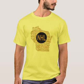 T-shirt NHL dans le Wisconsin