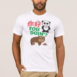 T-shirt Ni Hao vous Doin'?