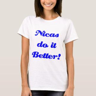 T-shirt Nicas il améliorent !