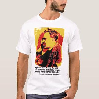 T-shirt Nietsche sur la guerre
