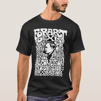 T-shirt Nietzsche - art
