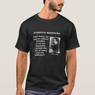 T-shirt Nietzsche, bonheur dans la différence