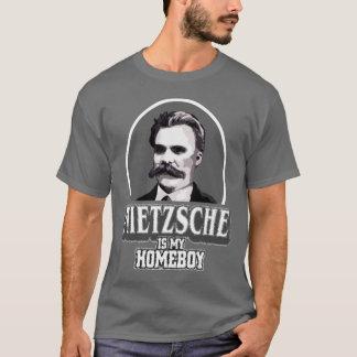 T-shirt Nietzsche est mon Homeboy