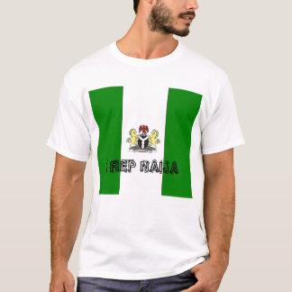 T-shirt nigeria_Full, représentant NAIJA d'I