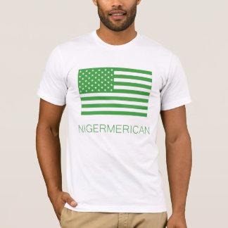 T-shirt Nigermerican