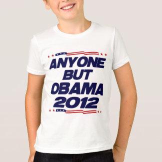 T-shirt N'importe qui mais Obama 2012