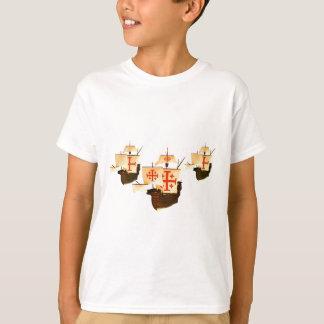 T-shirt Nina Pinta et Santa Maria