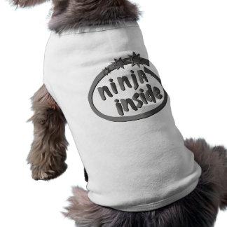T-shirt Ninja à l'intérieur !