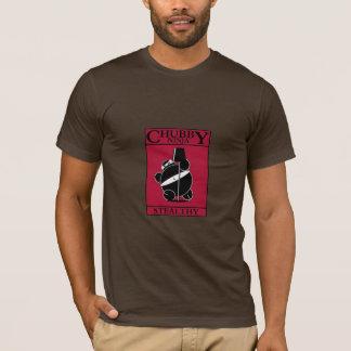 T-shirt Ninja potelé - furtif (rouge)