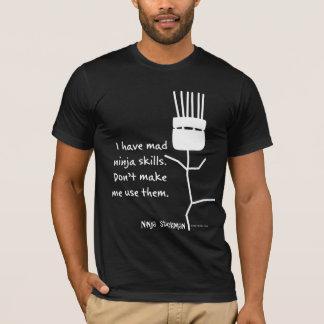 T-shirt Ninja Stickman