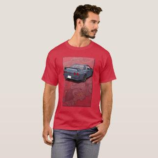 T-shirt Nissan Skyline R32 avec le contexte de moteur