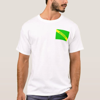 T-shirt Nitrox/drapeau de piqué