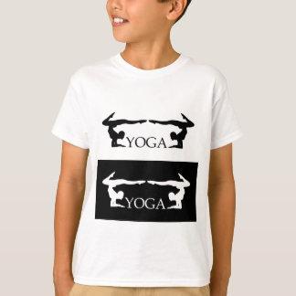 T-shirt Niveau avancé de pose de yoga