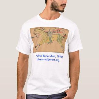 T-shirt No. 3, chemise de guerrier d'os de Walter