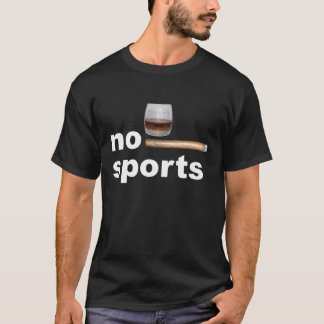 T-shirt no de sport whisky cigare
