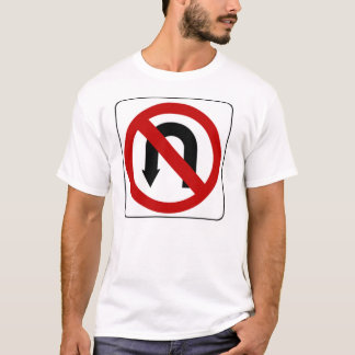 T-shirt no_u_turn_sign_01