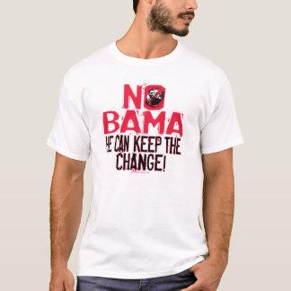 T-shirt Nobama gardent le changement