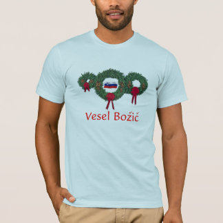 T-shirt Noël 2 de la Slovénie