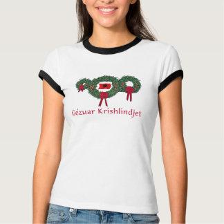 T-shirt Noël 2 de l'Albanie