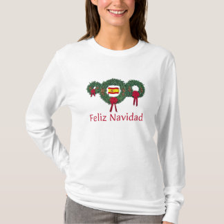 T-shirt Noël 2 de l'Espagne