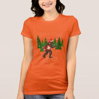 """T-shirt """"Noël avec Bigfoot"""""""