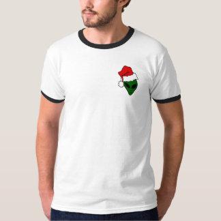 T-shirt Noël avec bord noir