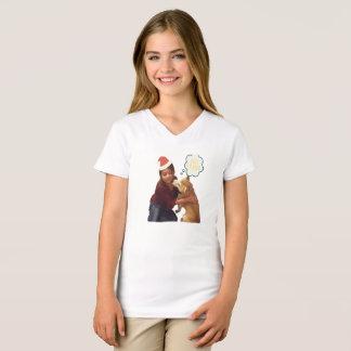 T-shirt Noël avec Kobe