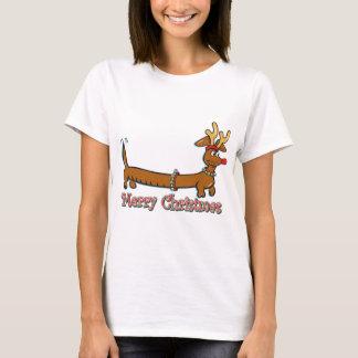 T-shirt Noël Dachshind