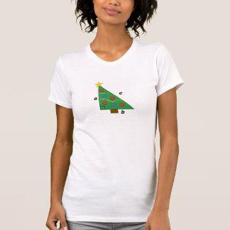 T-shirt Noël de bonne triangle de théorème pythagorien