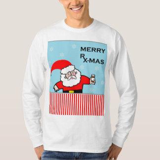 T-shirt Noël de pharmacien