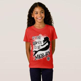 T-Shirt Noël de sirène