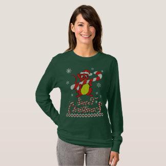 T-shirt Noël de sueur