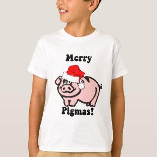 T-shirt Noël drôle de porc