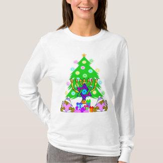 T-shirt Noël et Chanukah