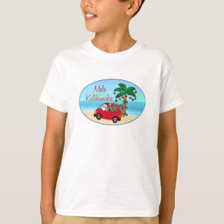 T-shirt Noël hawaïen
