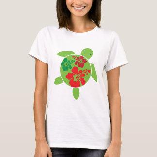 T-shirt Noël hawaïen Honu