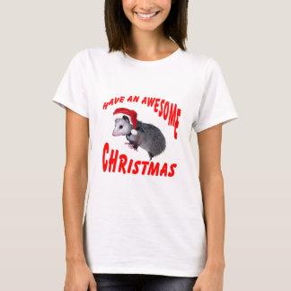 T-shirt Noël impressionnant d'opossum