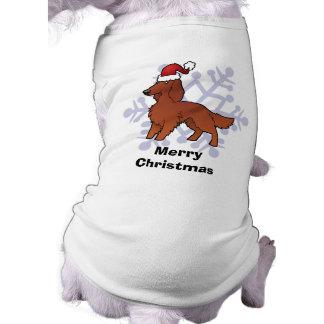 T-shirt Noël irlandais/anglais/poseur de Gordon/R&W