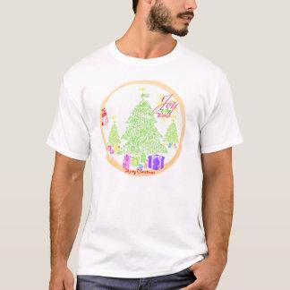 "T-shirt Noël ""joie biscuit à monde"""
