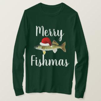 T-shirt Noël laid de brochets vairons