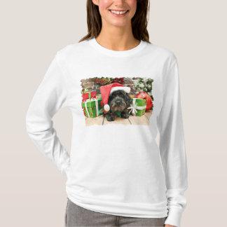 T-shirt Noël - Lhasa Apso - lutin