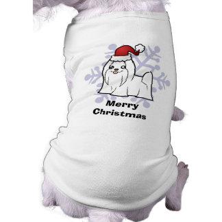 T-shirt Noël maltais (exposition coupée)