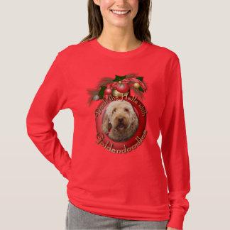 T-shirt Noël - plate-forme les halls - Goldendoodles