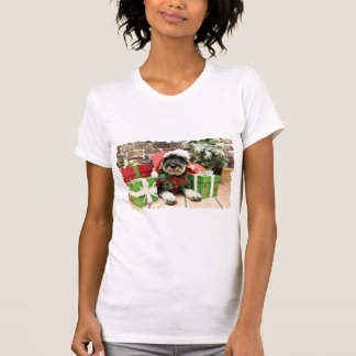 T-shirt Noël - Schnauzer - Tom Dooley