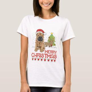 T-shirt Noël Shar Pei