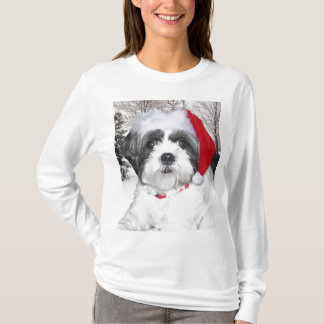T-shirt Noël Shih Tzu