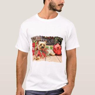 T-shirt Noël - Yorkie - Kinsey
