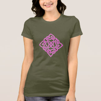 T-shirt Noeud celtique (rose)