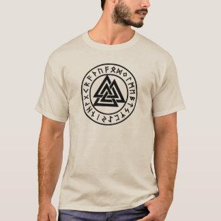 T-shirt Noeud de noeud de Walknut/Valknut - de Wotan/Odins
